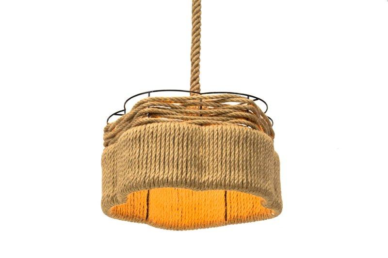Lampa Wisząca Sznur Lina - HACKNEY