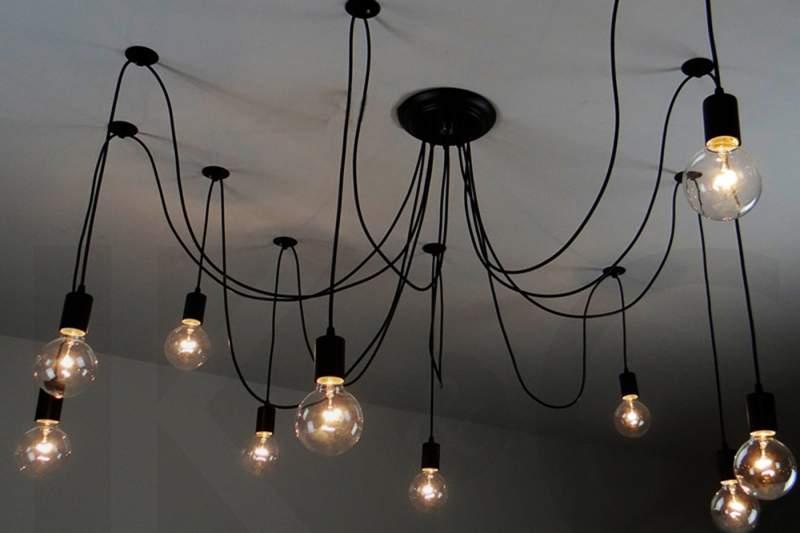 Lampa Wisząca Pająk - XEROBYSS 10