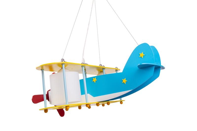 Pendant Lamp Plane HELIK For Kids