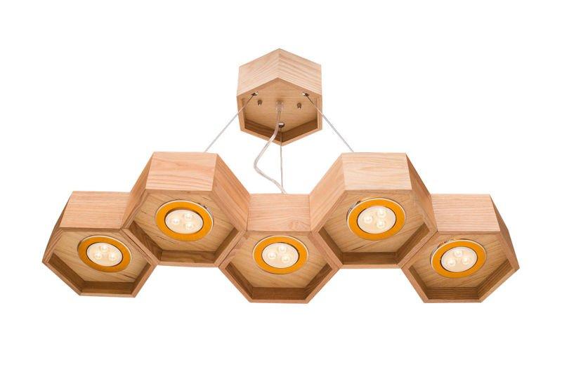 Pendat Lamp Honeycomb - HEXA 5