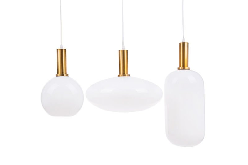 Lampa Wisząca PLESK - Prostokątna Podsufitka