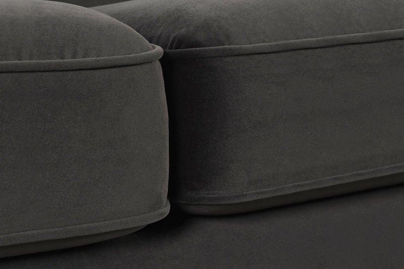 Sofa LEGACY CAMEL 3 Osobowa Aksamit